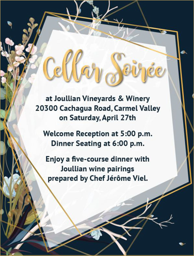 Cellar Soiree Ticket 2019 Product Image